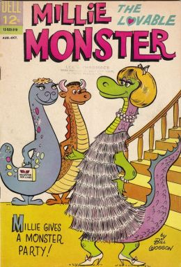 Millie The Lovable Monster Number 2 Childrens Comic Book