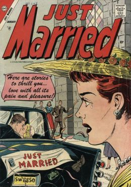 Just Married Number 1 Love Comic Book
