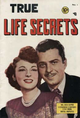 True Life Secrets Number 1 Love Comic Book