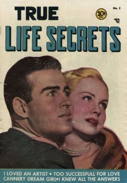 True Life Secrets Number 2 Love Comic Book