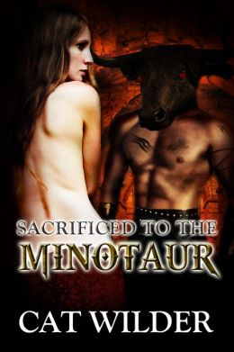 Sacrificed to the Minotaur (A Reluctant Virgin Monster Breeding Story)