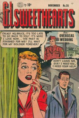 GI Sweethearts Number 35 Love Comic Book