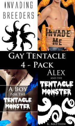Gay Tentacle 4-Pack