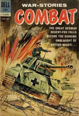 Combat Number 5 War Comic Book