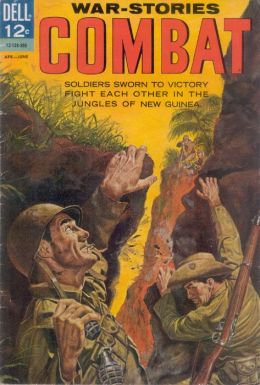 Combat Number 8 War Comic Book