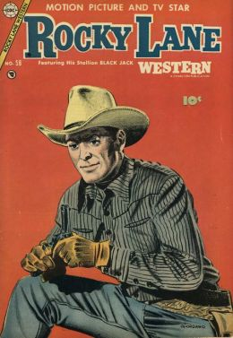 Rocky Lane Number 58 Western Comic Book