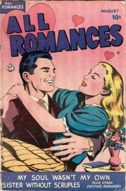 All Romances Number 1 Love Romance Comic Book