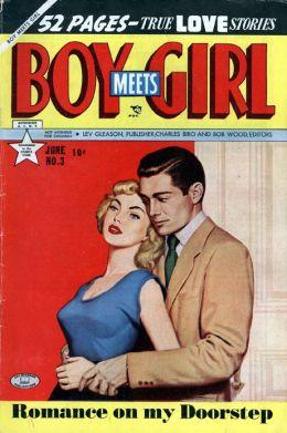 Boy Meets Girl Number 3 Love Comic Book