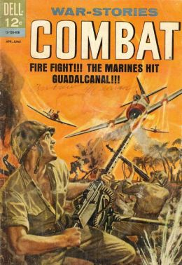 Combat Number 12 War Comic Book