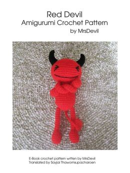 Red Devil Amigurumi Crochet Pattern