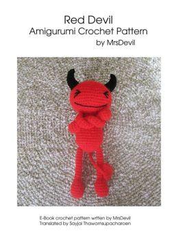Red Devil Amigurumi Crochet Pattern