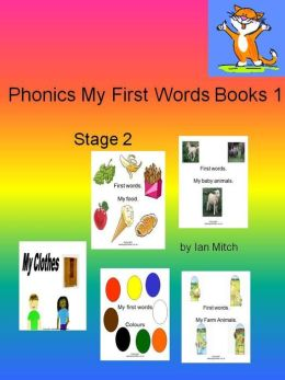 Phonics My First Words Books 1