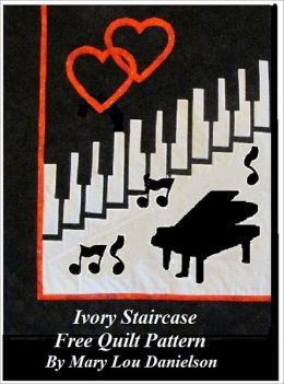Ivory Staircase: Free Quilt Pattern