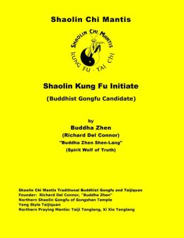 Shaolin Kung Fu Initiate (Buddhist Gongfu Candidate)