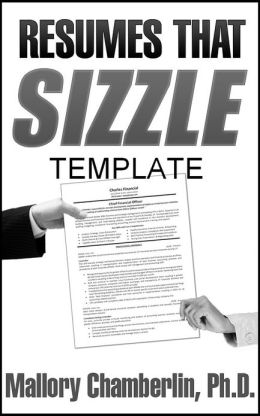 Resumes That Sizzle Template for MSWord