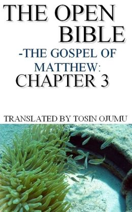 The Open Bible: The Gospel of Matthew: Chapter 3