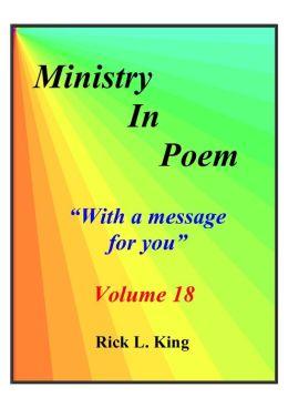 Ministry in Poem Vol 18