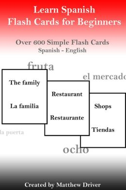 Learn Spanish - Flash Cards for Beginners