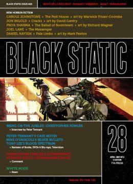 Black Static #28 Horror Magazine