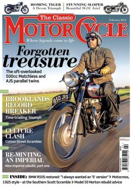 Classic Motorcycle - February 2014