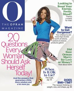 HGTV Magazine & O, The Oprah Magazine Combo - O, The Oprah Magazine - April 2014