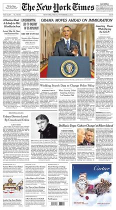 New York Times - 11/21/14