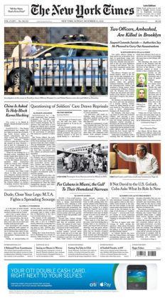 New York Times - 12/21/14