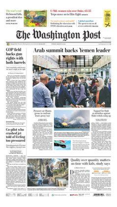 Washington Post - 03/29/15