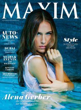 Maxim Deutschland, Schweiz, Österreich - November-Dezember 2014