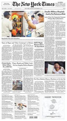 New York Times - 09/02/14