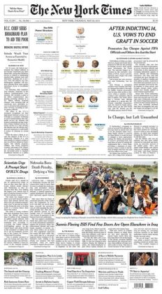 New York Times - 05/28/15