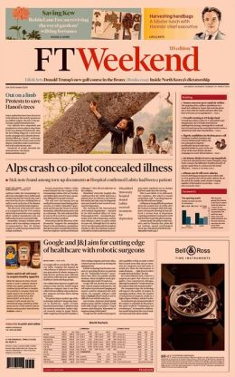 Financial Times - Saturday, March 28, 2015