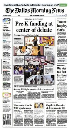 Dallas Morning News - Wednesday, April 01, 2015