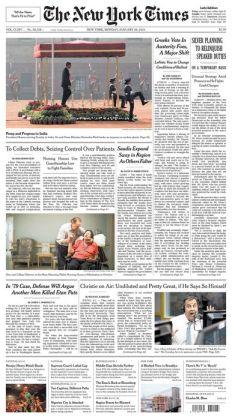 New York Times - 01/26/15