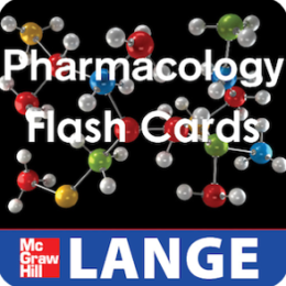 Pharmacology LANGE Flash Cards
