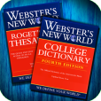 Product Image. Title: Webster's College Dictionary and Roget's Thesaurus