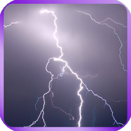 Lightning Strike Live Wallpaper