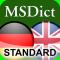 Dictionary English <-> German STANDARD