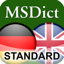 Dictionary English <-> German STANDARD