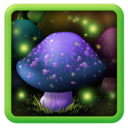 Magic Mushrooms Live Wallpaper!