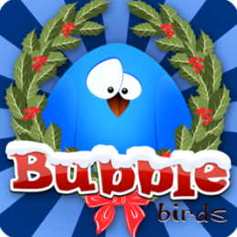 Bubble Birds Christmas
