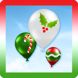Christmas Balloons Live Wallpaper!