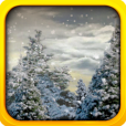 Product Image. Title: Snowfall Live Wallpaper: X-mas lights and Santa