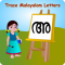 Trace Malayalam and English Alphabets