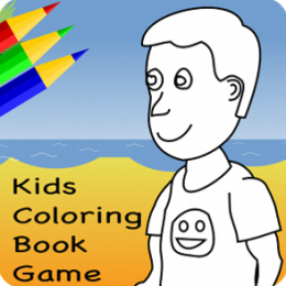 Kids Coloring Book Game