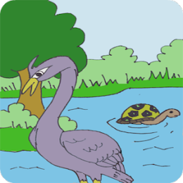 Geese and the Tortoise