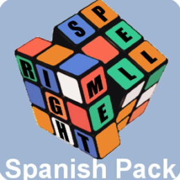 Spanish Word Pack for Spell Me Right