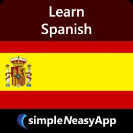 Learn Spanish - simpleNeasyApp by WAGmob