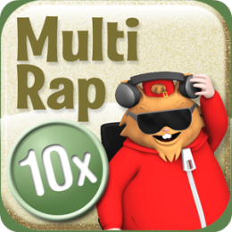 Multiplication Rap 10x