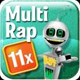Product Image. Title: Multiplication Rap 11x